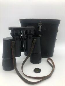 German WW 2 BLC (Carl Zeiss Jena) Binoculars 7 X 50 Benutzer W/Case
