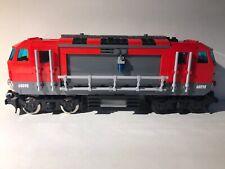 LEGO City 60098 Heavy-haul Train 9v Modded Custom MOC Look PF Led Lights W Motor