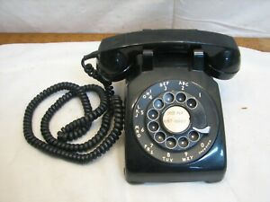 Bell System Western Electric model 500 Art Deco Rotary Phone Desk Telephone