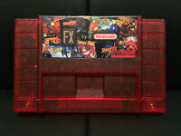 Super FX All In One Custom Cartridge for Super Nintendo SNES - All 10 games!