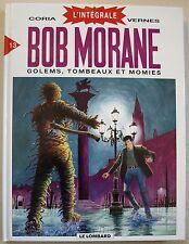 Bob Morane Intégrale T 13 Golems, tombeaux et momies VERNES & CORIA Lombard