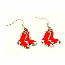 BOSTON RED SOX Dangle Earrings Officially Licensed NEW