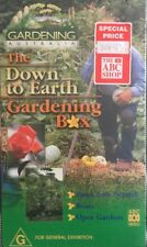 Gardening Australia The Down To Earth Gardening Box Set 3 VHS New Sealed