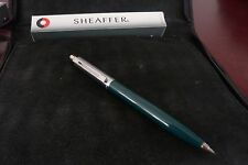 BUYONEGETTWOFREE!!SHEAFFER PENCIL MINT IN BOX,USA, SENTINAL GREEN, 0.7 LEAD