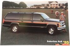 SUBURBAN TEXAS SHOWROOM NOS 95 PROMO 1995 CHEVY DEALER DEALERSHIP POSTCARD