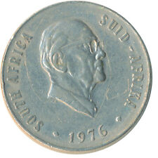 COIN / SOUTH AFRICA / 50 CENT 1976      #WT6291