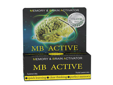 MB ACTIVE ,Nootropikum  20 Tabletten, noopept, Gehirn Doping und Aktivator.