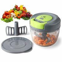 Magiclux Tech Mini 750 ml Powerful Manual Handheld Food Chopper/Mixer/Blender,