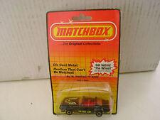 1983 MATCHBOX SUPERFAST #35 BLACK PONTIAC T-ROOF FIREBIRD TRANS AM NEW MOC