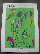 DLM DERRIÈRE LE MIROIR 235 'MARC CHAGALL' Octobre 1979, Lithographies