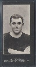 SMITHS-FOOTBALL ERS (CUP TIE BLUE BACK 1909)-#039- MANCHESTER UNITED - TURNBULL