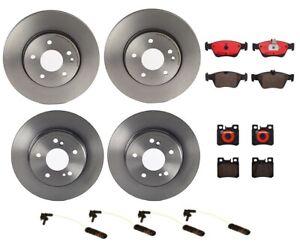 Brembo Front Rear Full Brake Kit Disc Rotors Ceramic Pads For MB W202 W210 R170