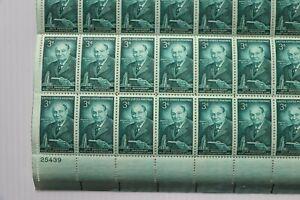 US Postage stamps Sheet mint nh og 1956 SC# 1080 3 cent Food & Drug Laws