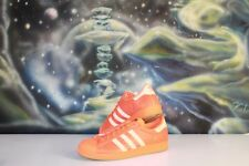Men's adidas Superstar 80s Reflective Nite Jogger Orange Street Shoes Size 11