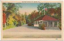 The Post Office in Mt. Gretna PA Postcard