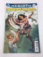 Wonder Woman Jan 2017 #10 DC Universe Rebirth Comic Book