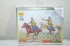 Soviet Cavalry Cavalleria Sovietica 1935-1942 2 Cavalieri - Zvezda Kits 1 72