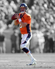 Denver Broncos PEYTON MANNING Glossy 8x10 Photo Football Print Spotlight Poster
