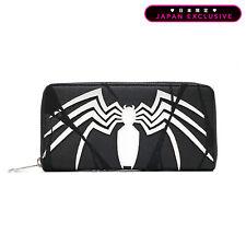 MARVEL × Loungefly Spider-man Long wallet Black Japan Limited Model F/S z