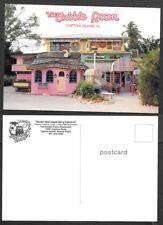 Old Florida Postcard - Captiva Island - The Bubble Room - Restaurant