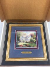 Thomas Kinkade Simpler Times Are Better Times Framed Print 1997 Collector's New