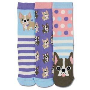Elico 3 Odd Socks For Children - Woof / Dogs - UK Size 12-5.5