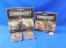 Conquest the Card Game Warhammer 40,000 with 1 Expansion and 2 War Packs