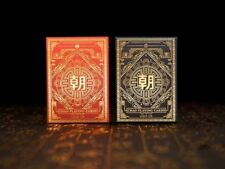 Chao Dynasties of China Playing Cards Rare Limited 2 Poker Decks not Bicycle %