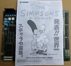 The SIMPSONS 2P. & 4P. roms kit, Konami. Pcb Arcade Shmups Jamma MVS NeoGeo AES.
