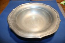 Old Pewter Bowl Yarmouth Italy