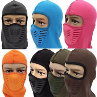 Breathable Balaclava Motorcycle Cycling Face Mask Thermal Snood Neck Tube Helmet