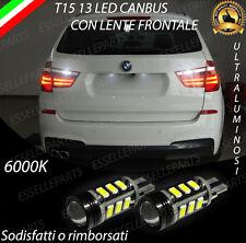LAMPADE RETROMARCIA 13 LED T15 W16W CANBUS BMW X3 F25 6000K NO AVARIA