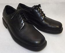 ROCKPORT MARGIN Classic Black Leather Oxford Dress Shoes Size 7.5 Med 40,5 EUR