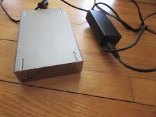 Lacie External HDD Hard Disk Drive Firewire 800 Port Design by F.A. Porsche