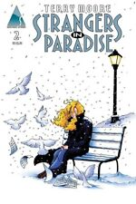 STRANGERS IN PARADISE # 2, 2nd printing, ABSTRACT STUDIOS Oct 2012