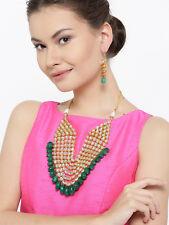 Indian Bollywood Anushka Nekclace Earring Set Partywear Ethnic Fashion Jewelry