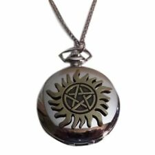 "Supernatural ANTI-POSSESION Symbol Pendant WATCH On 30"" Chain"