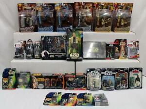 Star Wars Lot of 27: Unleashed, Boba Fett, Han Solo, Tusken Raider & More NR