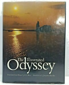 The Illustrated Odyssey ; by Homer - Translated by Rieu - Lovely Hardcover Book
