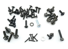 COMPLETE SCREW SET FAIRING BOLTS YAMAHA NEOS NEO's 50 SCREWS BLACK SCOOTER NEW