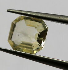 0.53 Ct Natural Sapphire Loose Octagon Sri-Lanka No Heat Gemstone