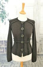 GAETANO NAVARRA Dark brown Wool blend cardigan size 6/8