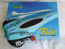 Selle Italia Flite Titanium Blue saddle - 1998 - NEW !  NOS !  NIB !