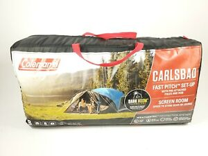 Coleman Carlsbad 8 Person Dark Room Fast Pitch Camping Tent New
