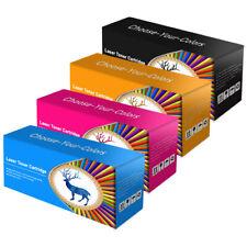 4 Toner unbrand fits for HP Color LaserJet 1600 2600n 2605 2605dtn-124A CM1015
