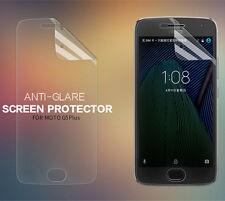 Matte Anti-Glare Plastic Screen Protector For Motorola Moto G5 Plus