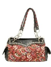 $69 New Blazin Roxx Women's Quilted Paisley Bag - Western BLING!