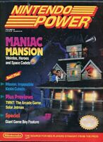 1990 Nintendo Power Magazine #16 Featuring NES Maniac Mansion Mission Impossible
