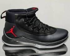 Air Jordan Ultra Fly 2 Black/Anthracite/Wolf Grey/Red 897998-002 US Men Size 11