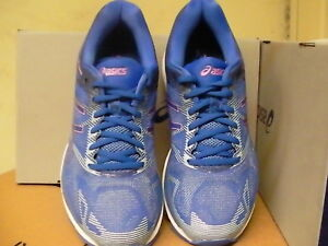 Asics women's gel nimbus 19 blue purple violet running shoes size 8 us
